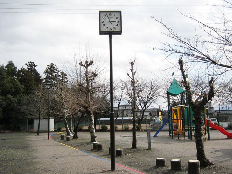 時計修繕工事前