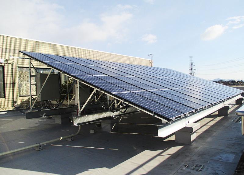 防災型太陽光発電システム